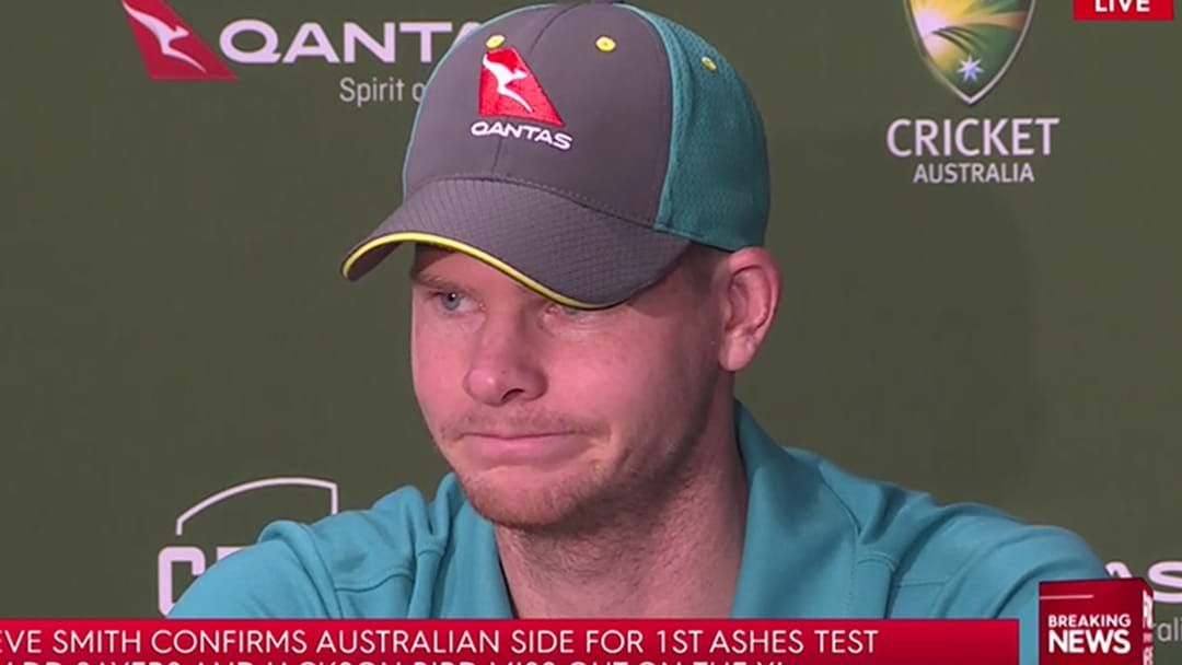 Article heading image for Steve Smith Confirms The Team For Australia's First Ashes Test