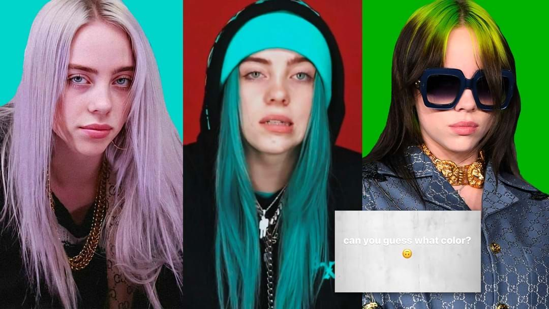 Article heading image for Billie Eilish Debuts Incredible Hair Makeover