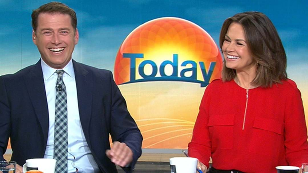 Article heading image for Lisa Wilkinson's Message To Karl Stefanovic Ahead Of His Today Show Return