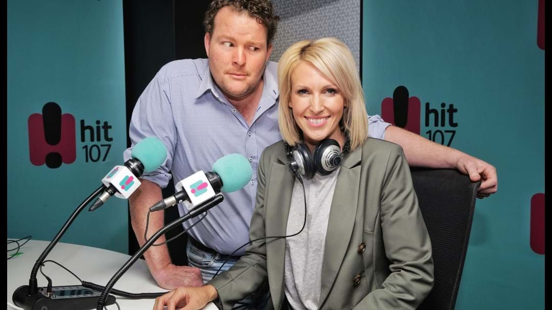 Article heading image for Rebecca Morse And Andrew Costello Join Adelaide's Hit107 For Breakfast