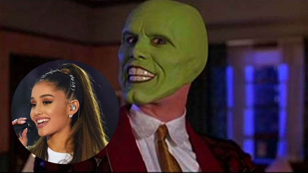 Article heading image for Somebody Stop Her! Ariana Grande Gets A Jim Carrey Tattoo!