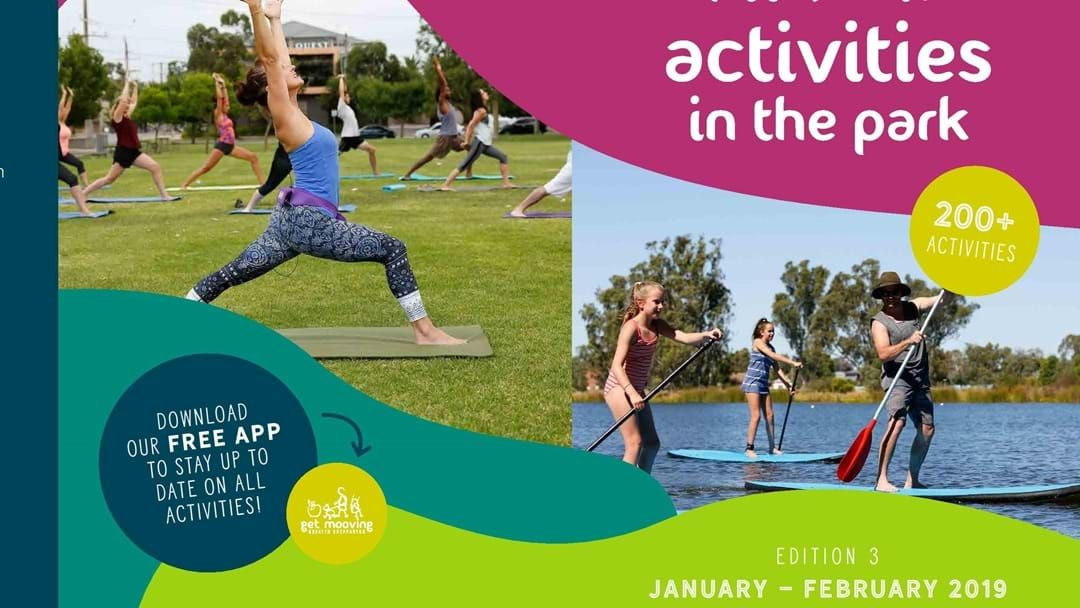 Article heading image for Get Mooving with Activities In The Park  - March thru April