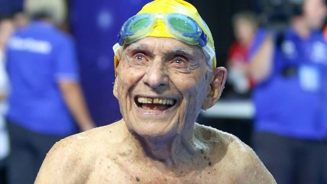 Article heading image for 99-Year-Old Aussie Smashes World Record At Commonwealth Games Trial