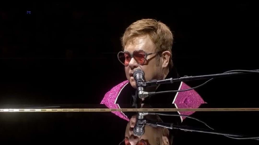 Article heading image for Elton John Has Donated $1 Million To The Bushfire Relief