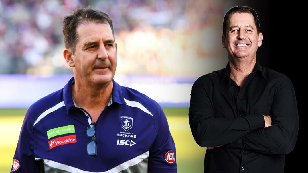 Article heading image for Ross Lyon Addresses If He'd Consider Coaching At AFL Level Again
