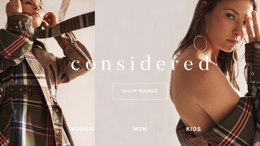 Article heading image for The Iconic Has Launched 'Considered', An Ethical Shopping Edit