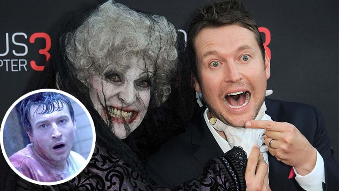 Article heading image for How To Turn Your Kids Bed Time Stories Into Horror Stories with Saw Creator Leigh Whannell