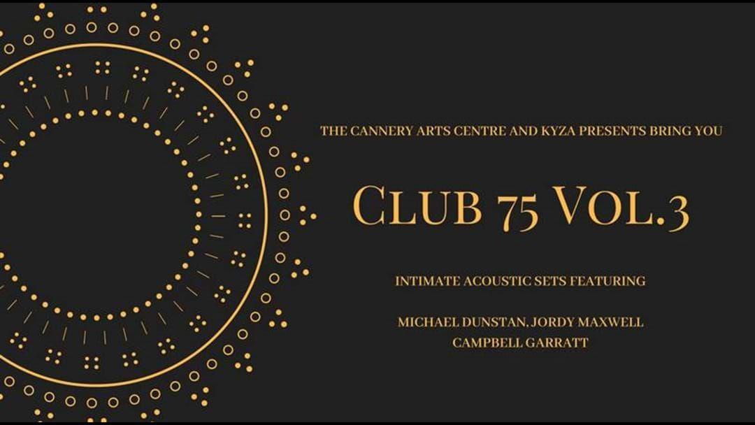 Article heading image for Club 73 Volume Three - Michael Dunstan, Jordy Maxwell and Campbell Garrett
