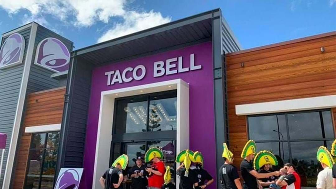Article heading image for Sydney's First Taco Bell Store Is Opening Tomorrow And There's A Year's Supply Of Tacos Up For Grabs