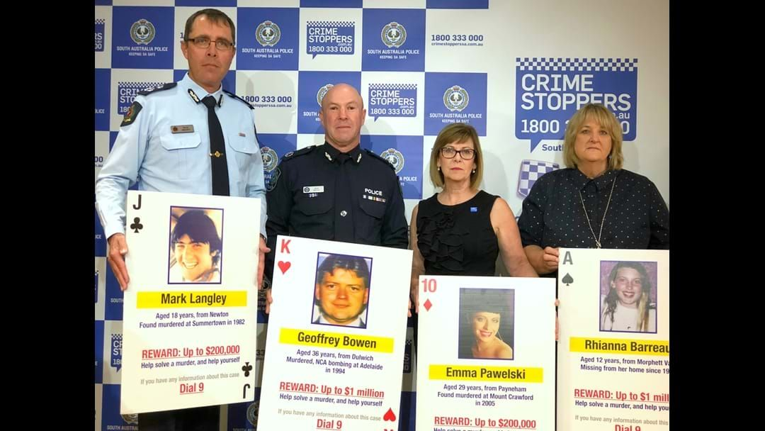 Article heading image for  SA Police 'cold case' campaign, Operation Persist, is entering a fresh phase