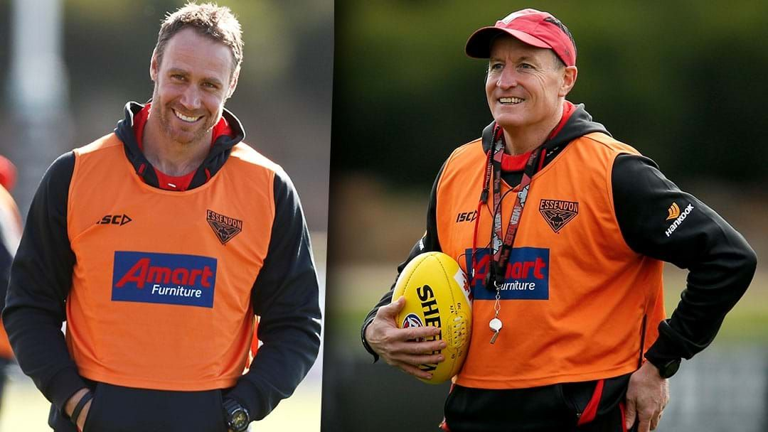 Article heading image for Tom Bellchambers On Essendon's Worsfold/Rutten Coaching Setup