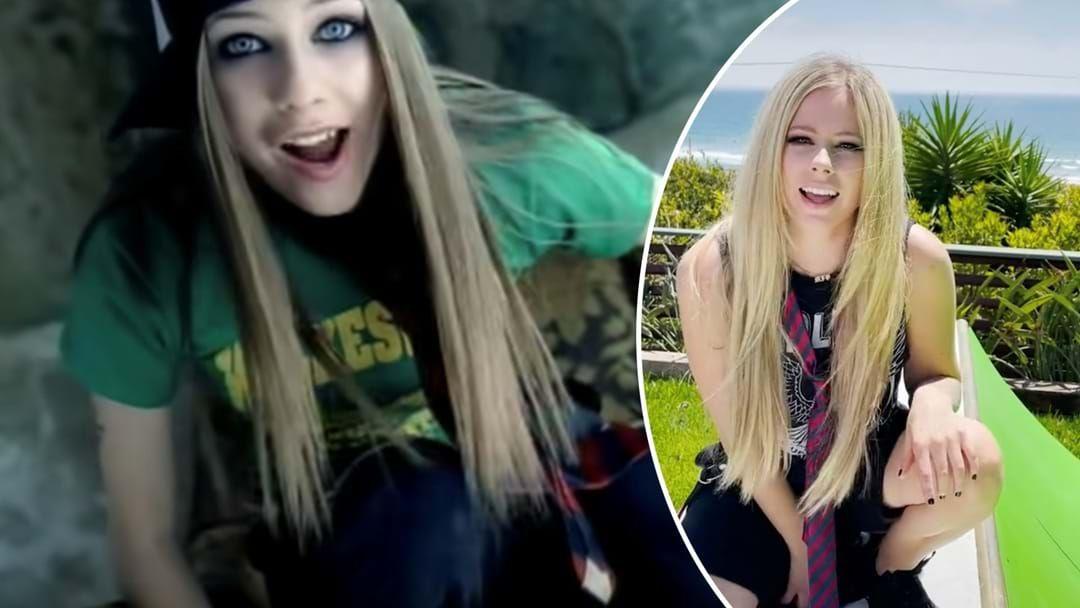 Article heading image for Avril Lavigne Just Debuted The Ultimate Sk8er Boi TikTok