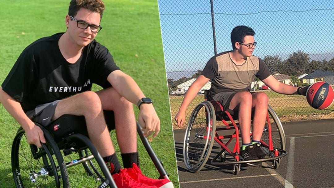 Article heading image for Cory Crombi Opens Up About The Accident That Turned Him Into A Paraplegic At 14 Years Old