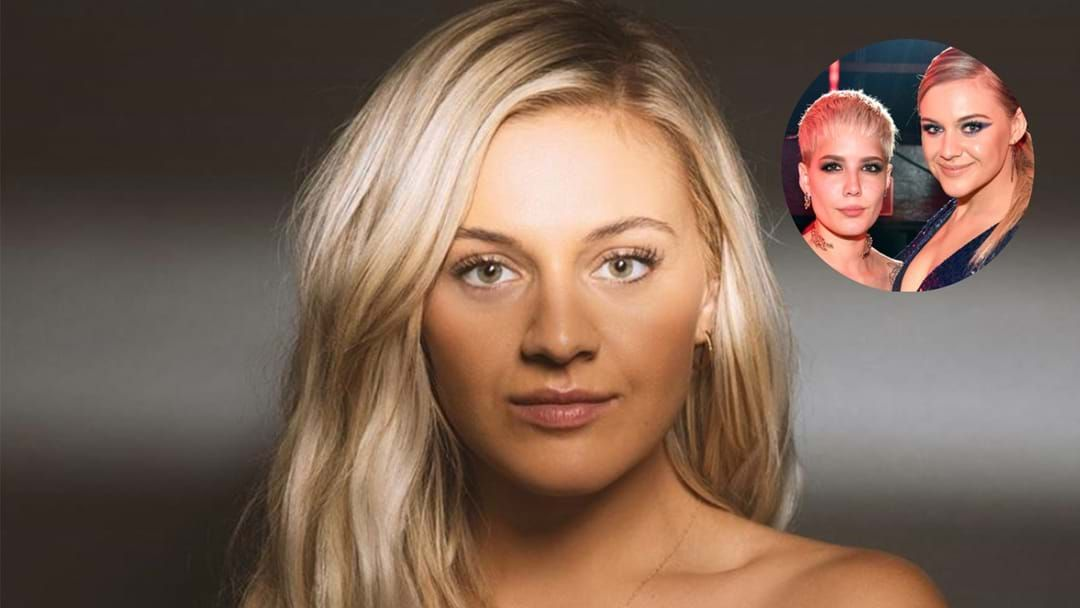 Article heading image for We Asked Kelsea Ballerini If She's Releasing A Song With Halsey And Her Reaction Gave It Away