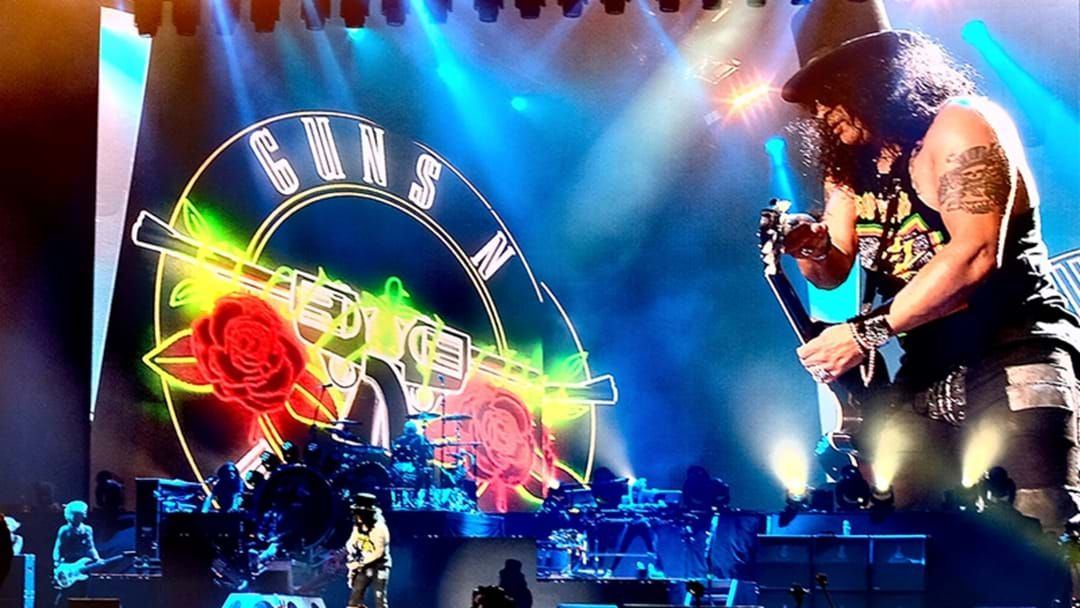 Article heading image for Guns N' Roses Are Busy Working On A New Album