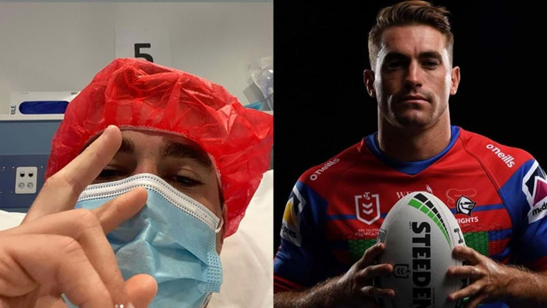 Article heading image for Connor Watson Gives An Injury Update & Talks Knights Curse!
