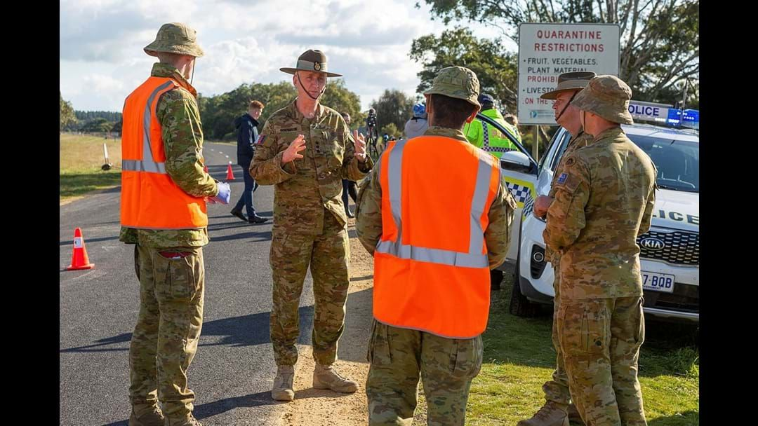 Article heading image for ADF Personnel Supporting SAPOL Border Checkpoint