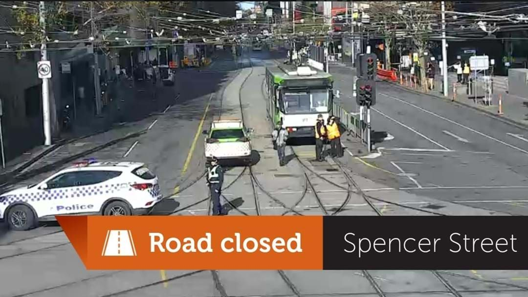 Article heading image for Spencer Street Closed Due To Crane Malfunction, Could Affect Evening Peak Hour
