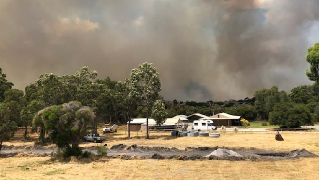 Article heading image for Pete Had To Cut His Shift Short Because Of A Bushfire Warning At His House