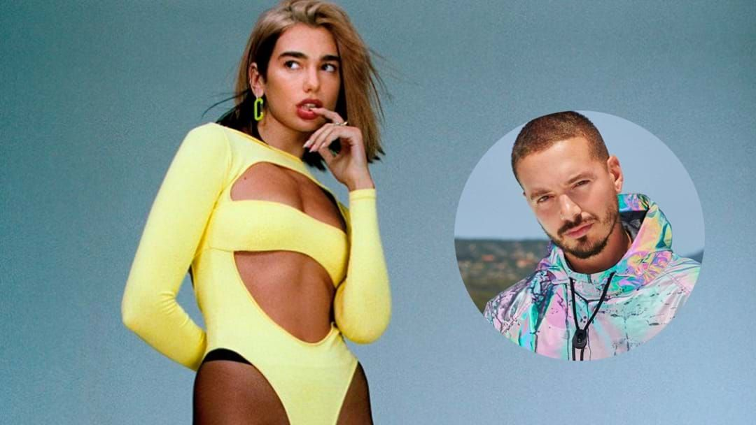 Article heading image for LISTEN: Dua Lipa Drops Saucy Collab With J Balvin