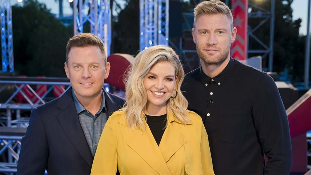 Article heading image for Did Rebecca Maddern Reveal A Pay Gap Between The Australian Ninja Warrior Hosts?