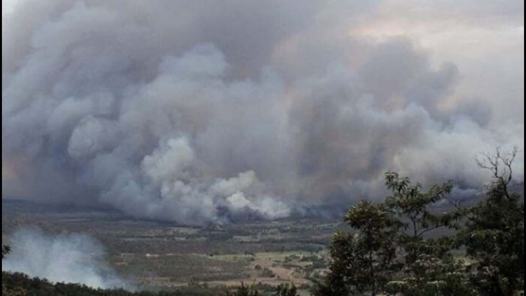 Article heading image for Brianna Scully Updates Jay And Dave On Bushfire Conditions In The Mackay Region