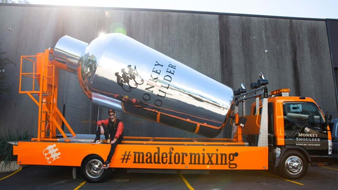 Article heading image for A Cocktail Mixing Truck Is Rolling Through Sydney Delivering Free Drinks!