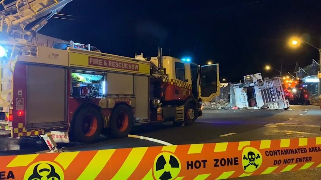 Article heading image for COFFS HARBOUR: Highway Truck Rollover in CBD
