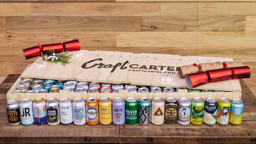 Article heading image for This Mega 100-Case Of Craft Beer Is The Perfect Present This Christmas!
