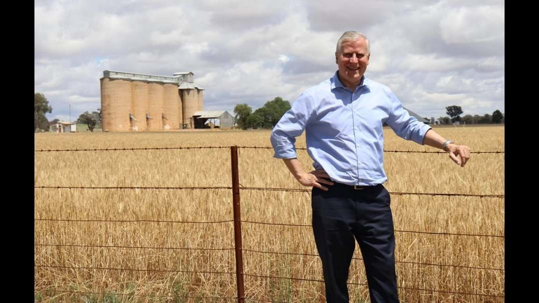 Article heading image for Riverina a big winner from Budget: McCormack