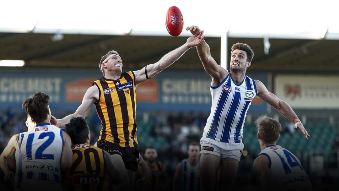 Article heading image for Hawthorn, North Melbourne Secure New Deals In Tasmania Partnership