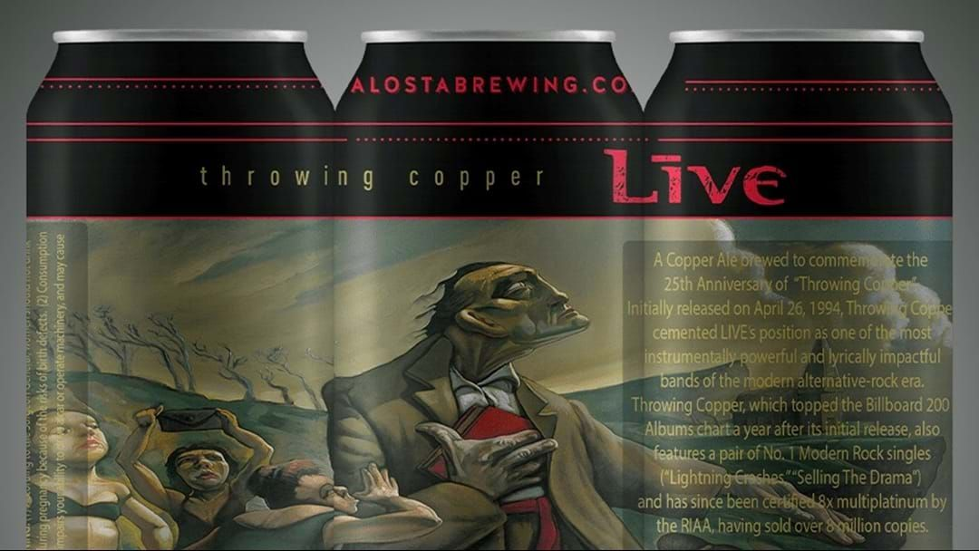 Article heading image for Live Release Limited Edition Throwing Copper Beer