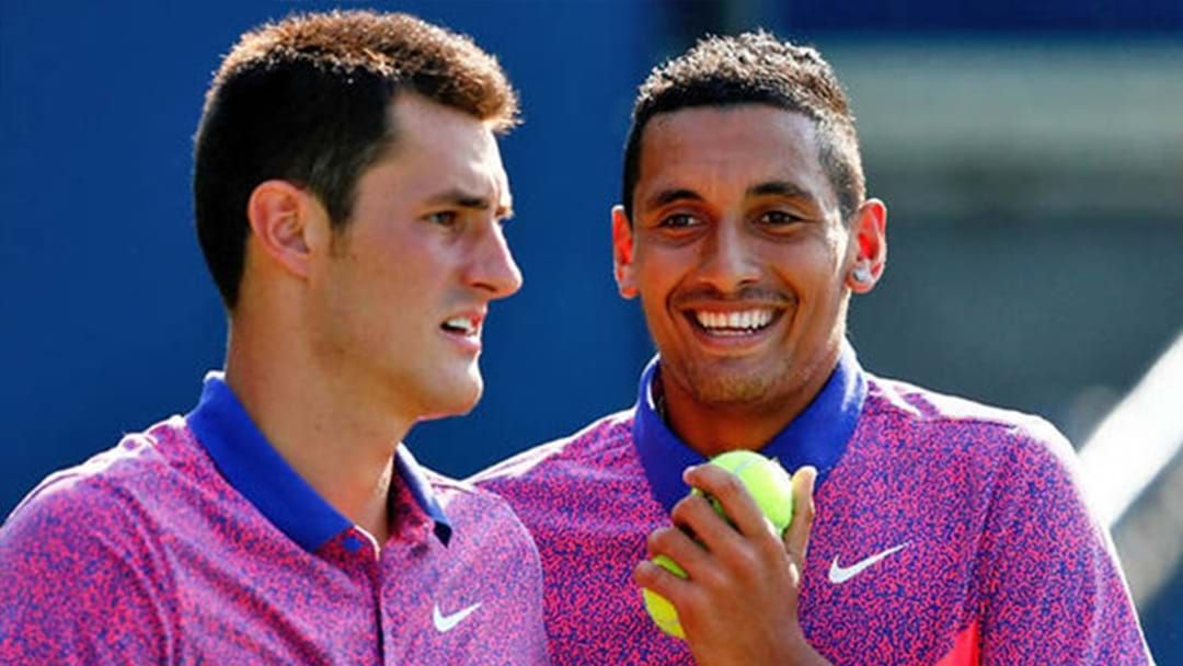 Article heading image for Tomic & Kyrgios Set To Face Each Other For The First Time Ever At The Kooyong Classic