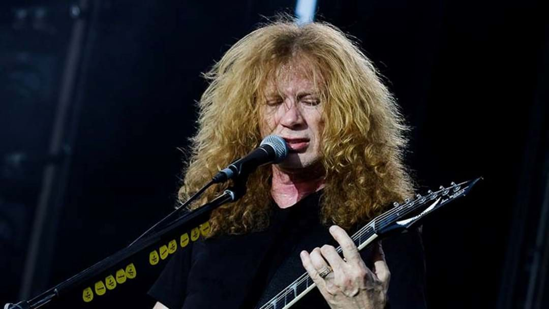 Article heading image for Metal Icon Dave Mustaine Opens Up Following Cancer Diagnosis