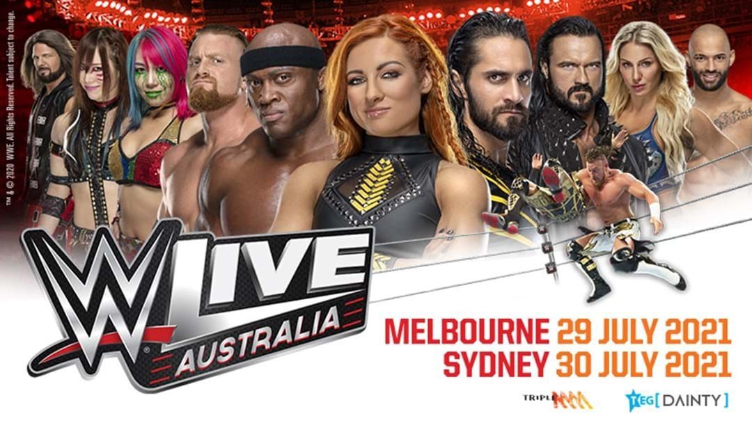 Article heading image for WWE LIVE Australia - Tour Dates Rescheduled