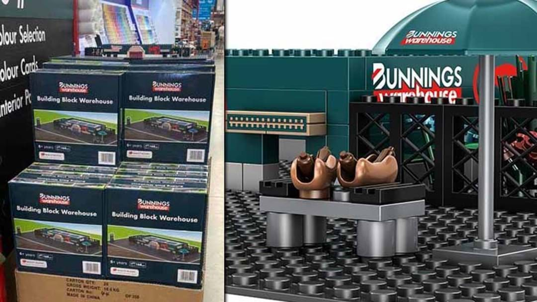 Article heading image for Bunnings Have Released Their Own LEGO-Style Warehouse, Complete With Replica Sausage Sizzle