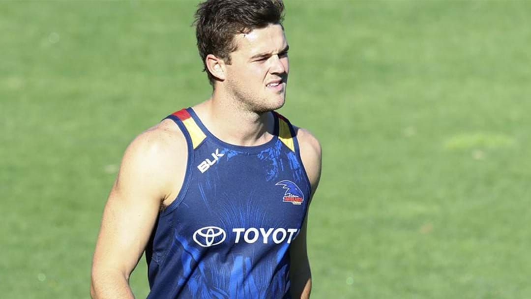 Article heading image for Crows Star Brad Crouch Is On Track To Play A Practice Match Next Week