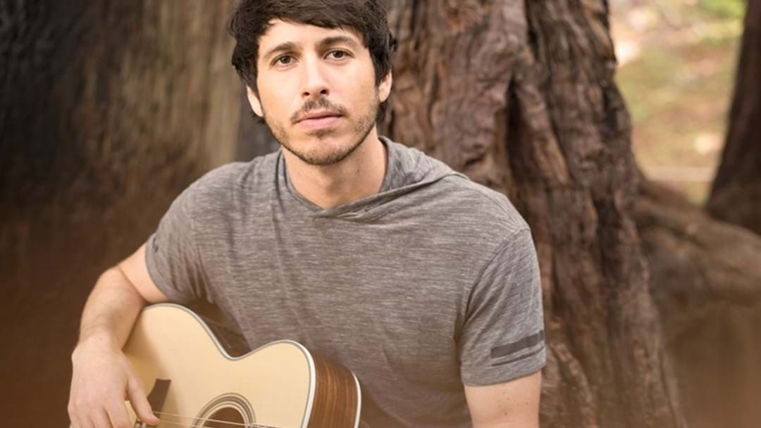 Article heading image for Morgan Evans Is Coming Home as Part of His World Tour!