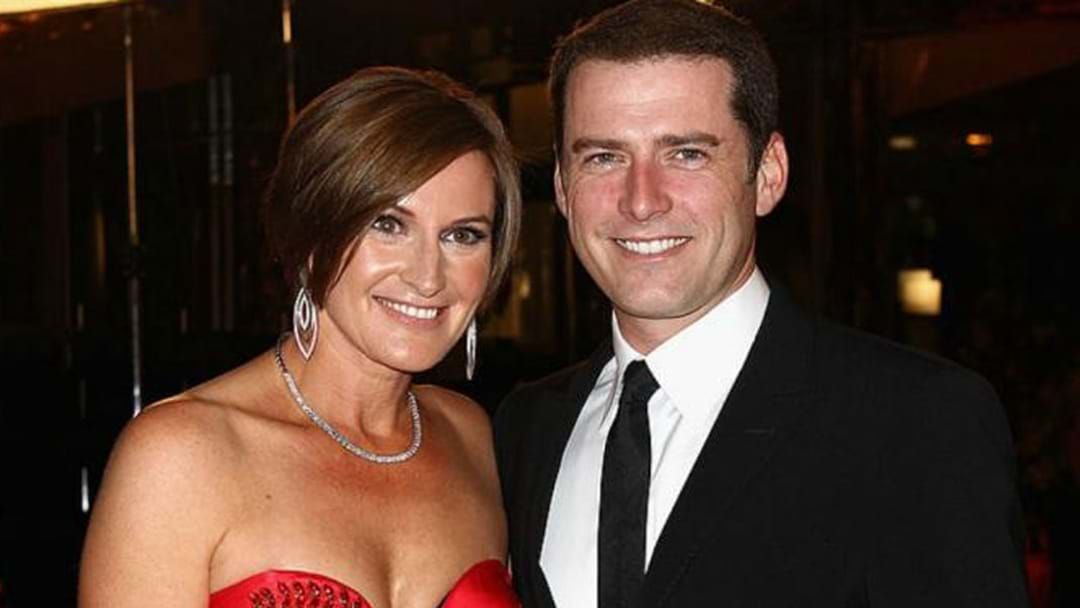 Article heading image for Cassandra Thorburn On Karl's Reaction To Her Dancing With The Stars Gig