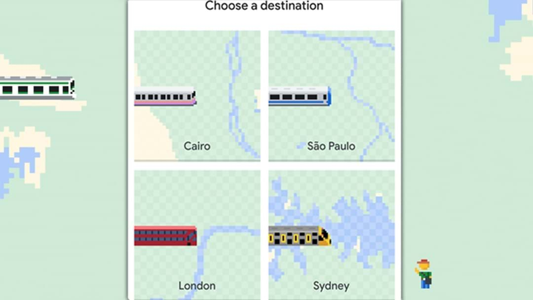 Article heading image for In An Extremely Apt Twist, Sydney Trains Feature In Google Maps' April Fools Joke