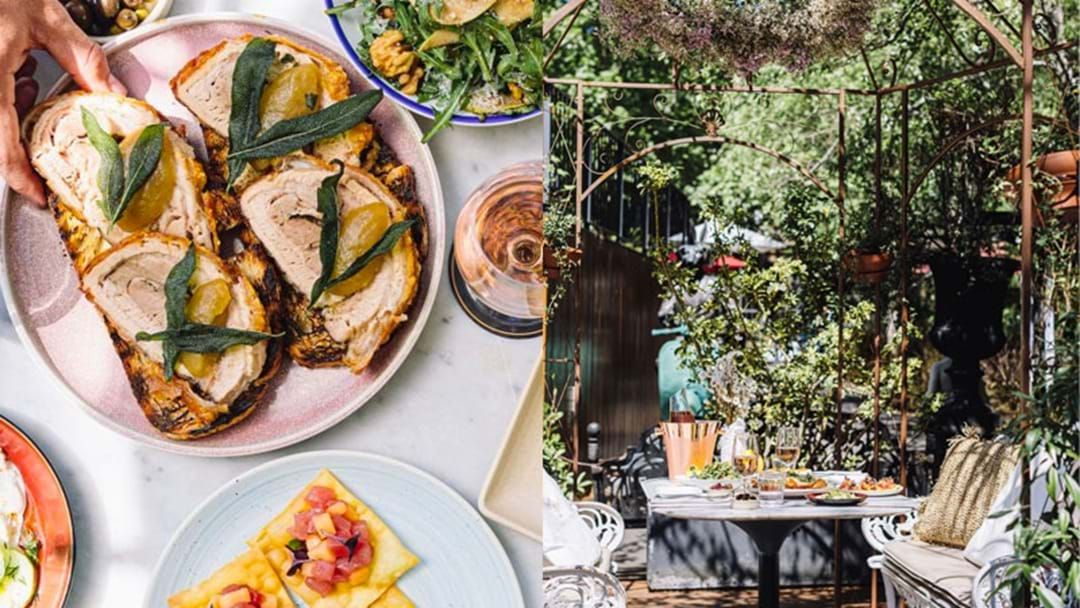 Article heading image for The Winery In Surry Hills Has Unveiled Its Tuscan Summer Makeover!