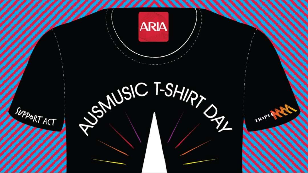 Article heading image for Get Your Fave Aussie Band Tee On For Aus Music T-Shirt Day