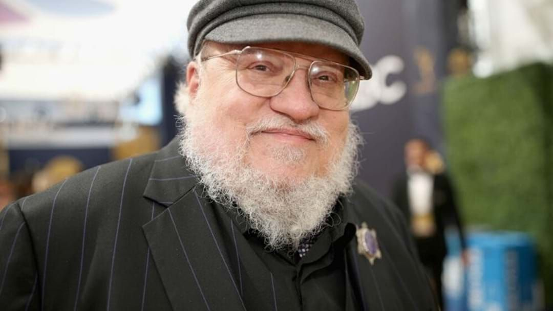 Article heading image for George R. R. Martin Hints 'The Winds Of Winter' Might Be Done By Next Year