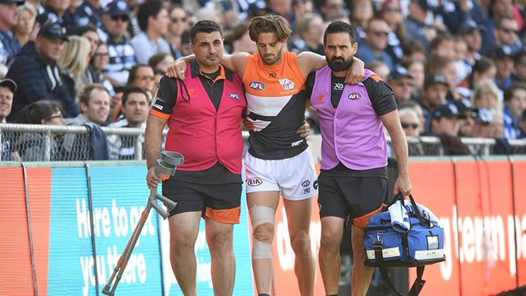Article heading image for Scans Confirm ACL Rupture For Ward