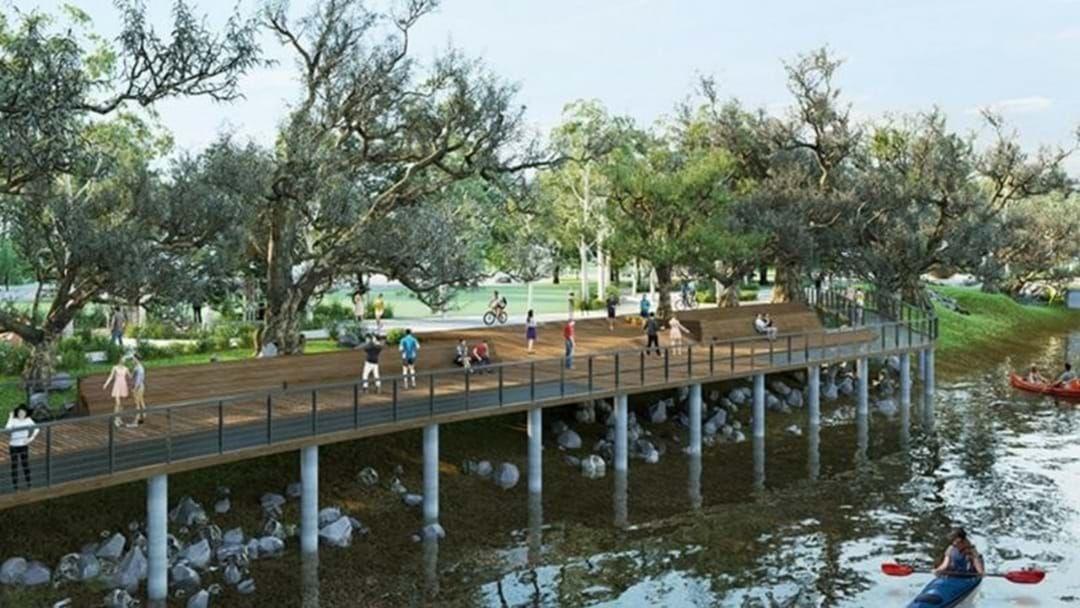 Article heading image for Works To Begin On Riverside Precinct Near Albury Swim Centre