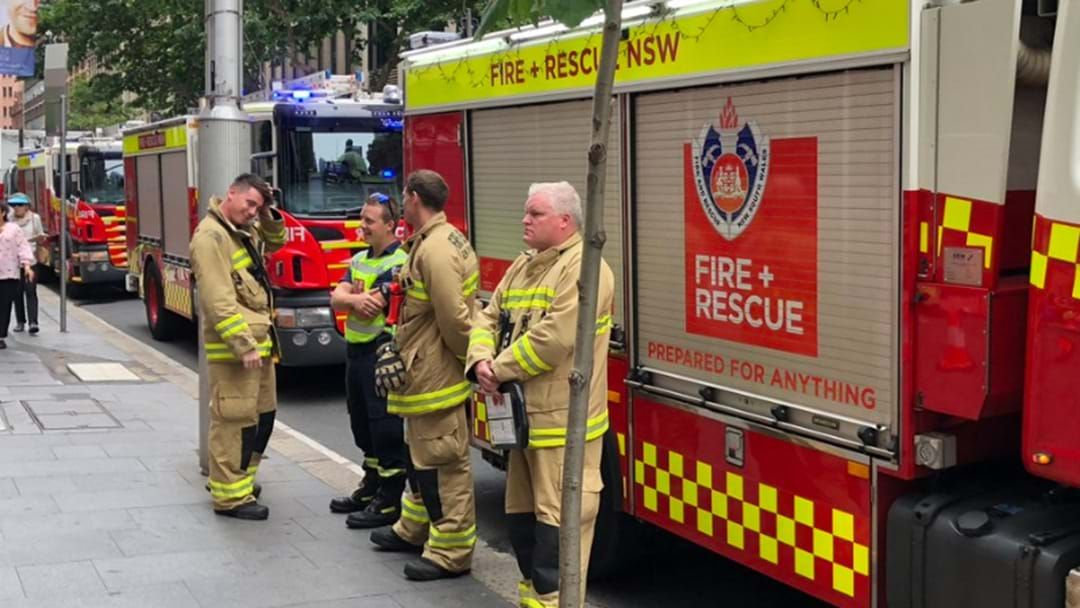 Article heading image for HAZMAT Crews Attending To 'Suspicious Package' Incident In Sydney CBD