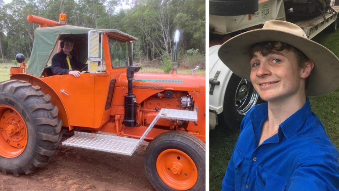 Article heading image for 17-year-old to Travel Australia in a Tractor for Charity