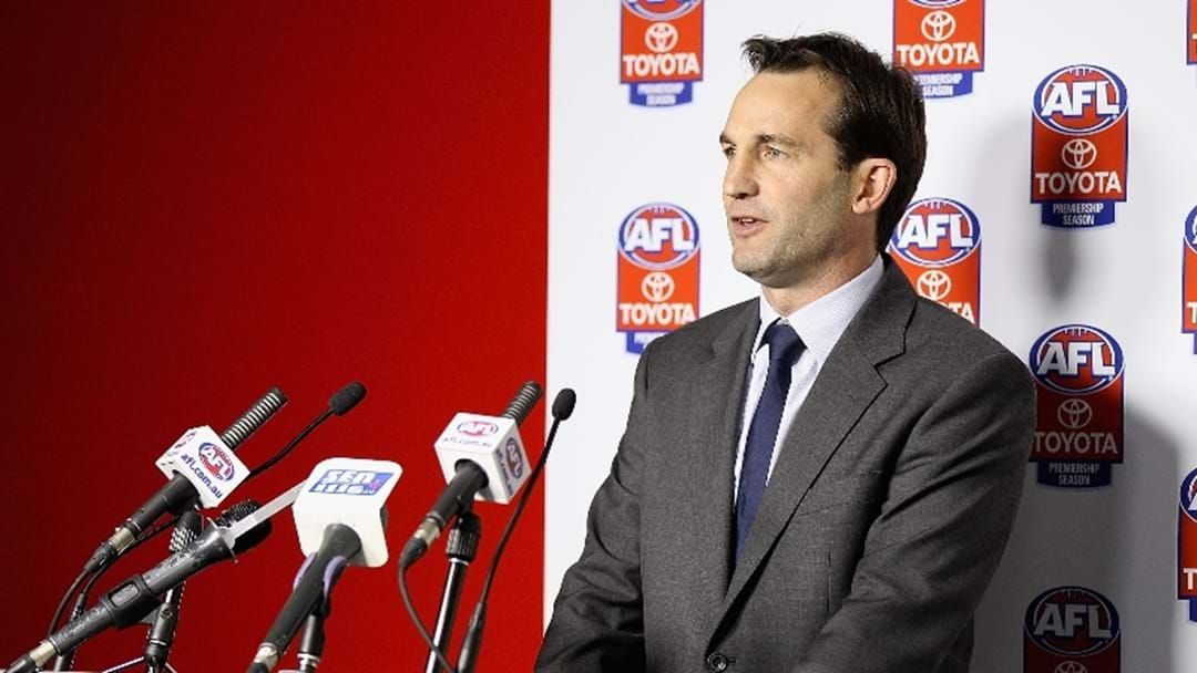 Article heading image for Andrew Dillon Explains The Next Steps For Essendon Following McKenna's Positive Test