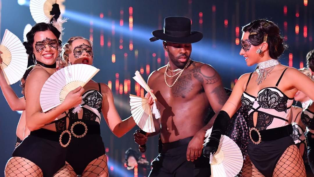 Article heading image for Jason Derulo Would Like You To Know It's Too Hot For Clothes (In His Neighbourhood)
