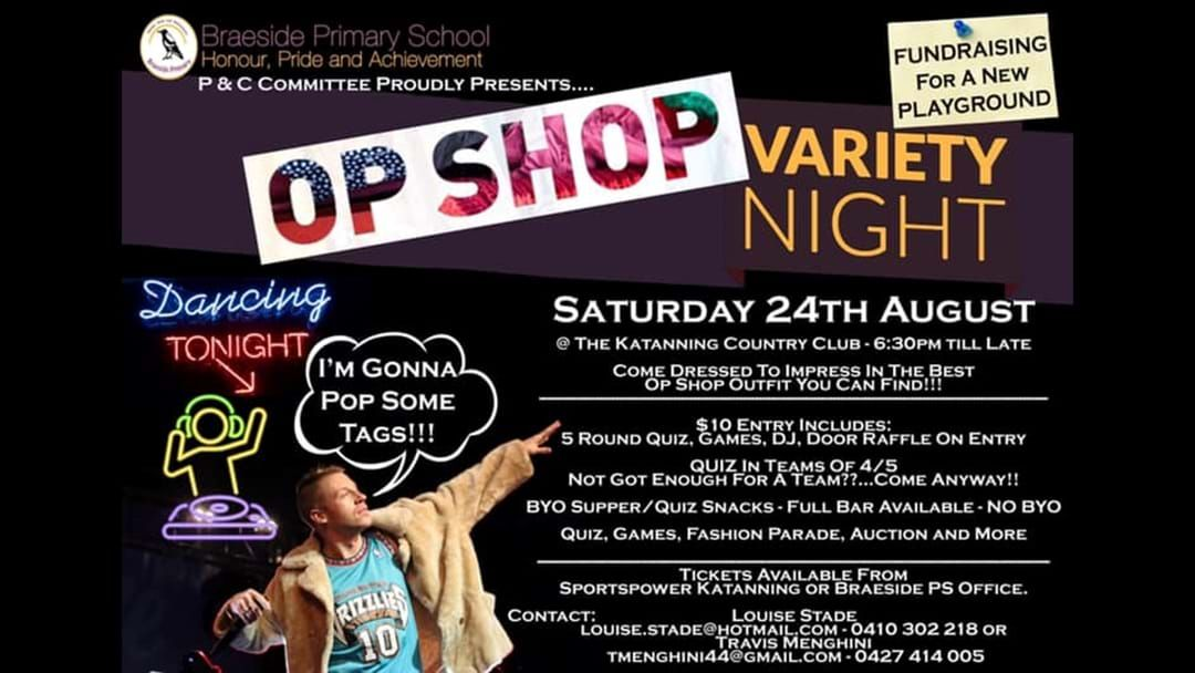Article heading image for OP Shop Variety Night